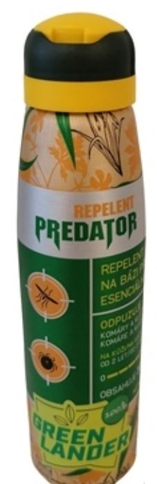 PREDATOR GREEN LANDER REPELENT SPR 150ML