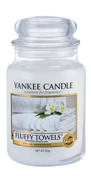 Yankee Candle Fluffy Towels 623 g