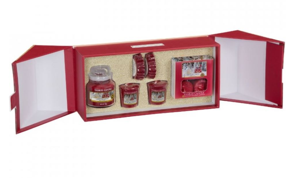 Vianočný set sviečok Yankee Candle - Christmas magic