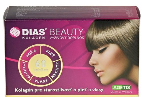 Medochemie Dias Beauty kolagén 60 tabliet