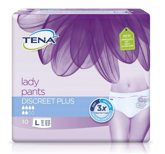 Tena Lady Pants Discreet plus L 10 ks