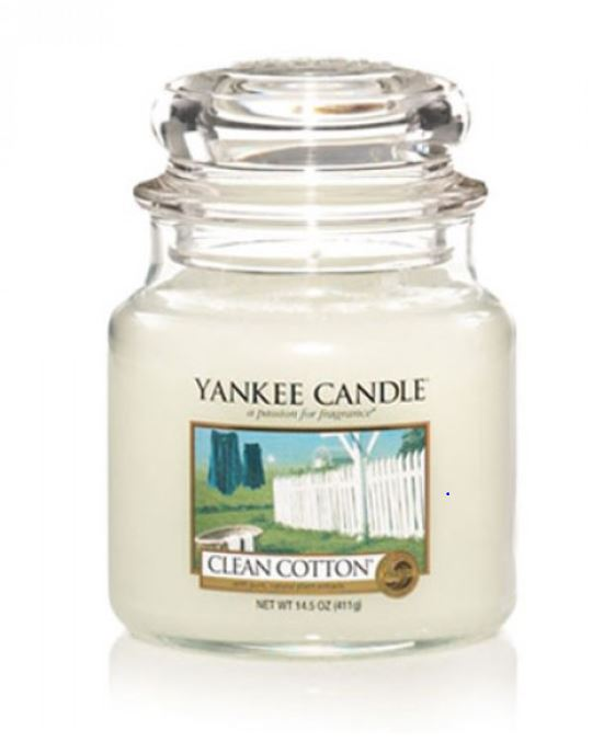 Yankee Candle Clean Cotton 411 g