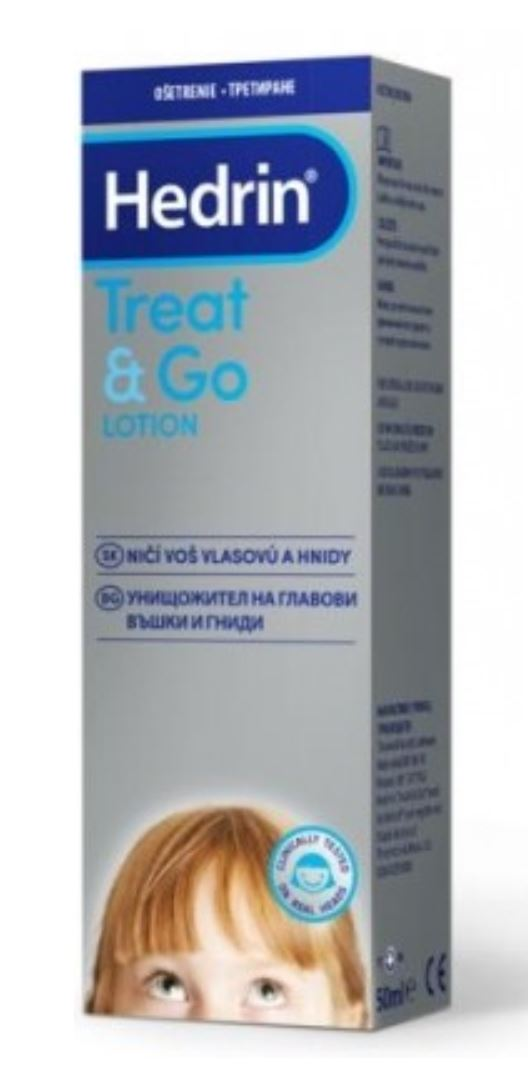 Hedrin Treat & Go Lotion proti všiam a hnidám 50 ml