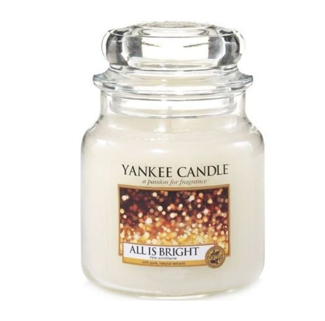 Yankee Candle All is Bright 411 g