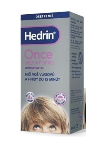 HedrinOnce Spray Gel 100 ml
