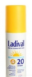 Ladival Transparent spray SPF20 150 ml