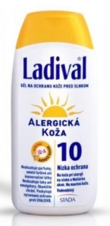 Ladival Alllerg gel SPF10 200 ml