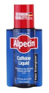 Alpecin Caffeine Liquid kofeinové tonikum proti padaniu vlasov pre mužov Strengthens The Hair Roots Prevents Hair Loss 200 ml