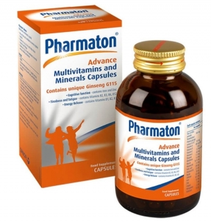 Pharmaton Advance Multivitamins & Minerals Capsules