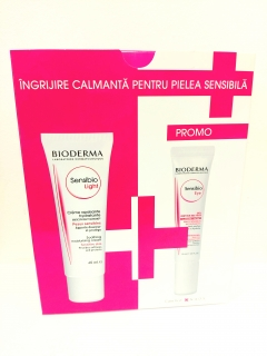 SET Bioderma Sensibio eye 15 ml + Bioderma Sensibio light 40ml