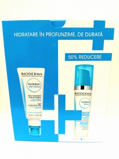 Bioderma Hydrabio Gel-Creme 40ml + Hydrabio Sérum 40ml